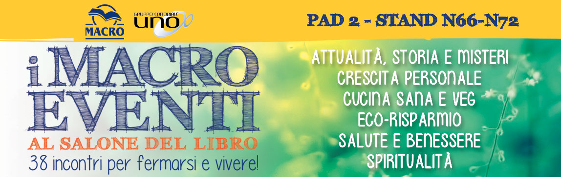 Macro Eventi al Salone del Libro di Torino 2016