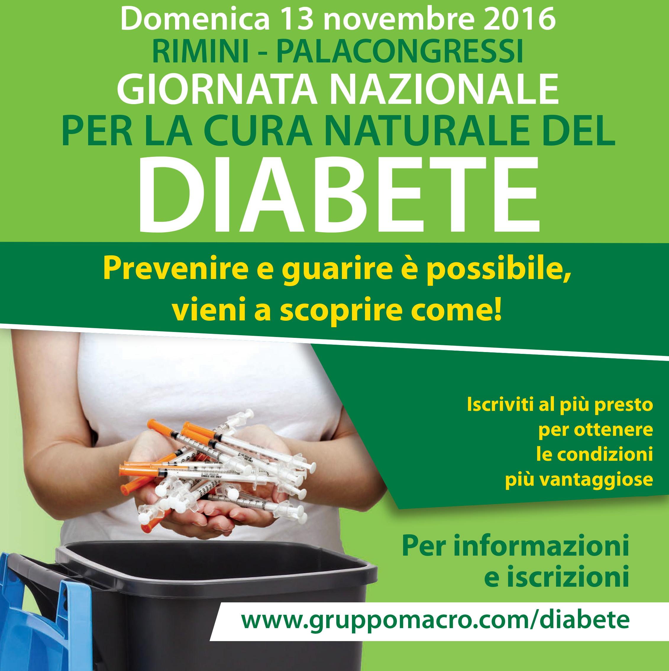 Convegno Diabete - Rimini 13 Novembre 2016